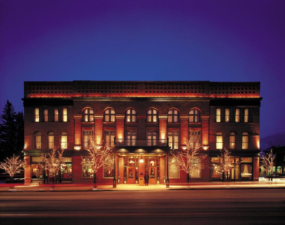 Отель  Отель  Hotel Jerome, Auberge Resorts Collection