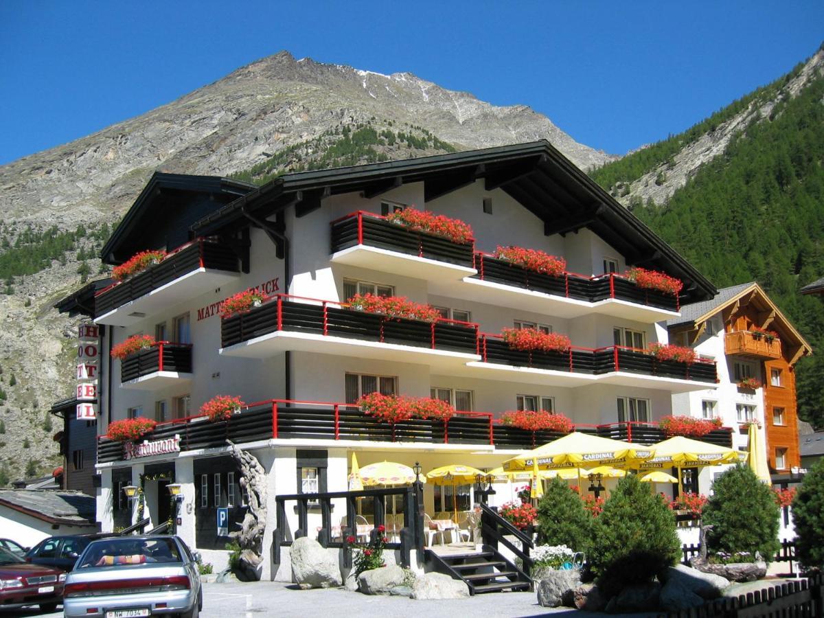 Отель  Hotel Restaurant Mattmarkblick  - отзывы Booking