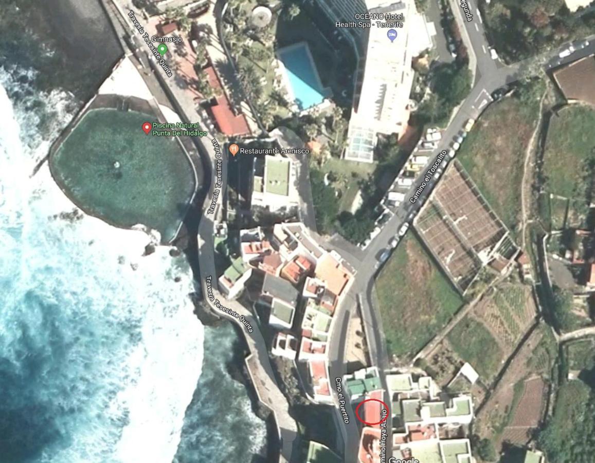 Punta Hidalgo Tenerife Mapa.Apartamento Costero Punta Del Hidalgo Espana Punta Del Hidalgo Booking Com