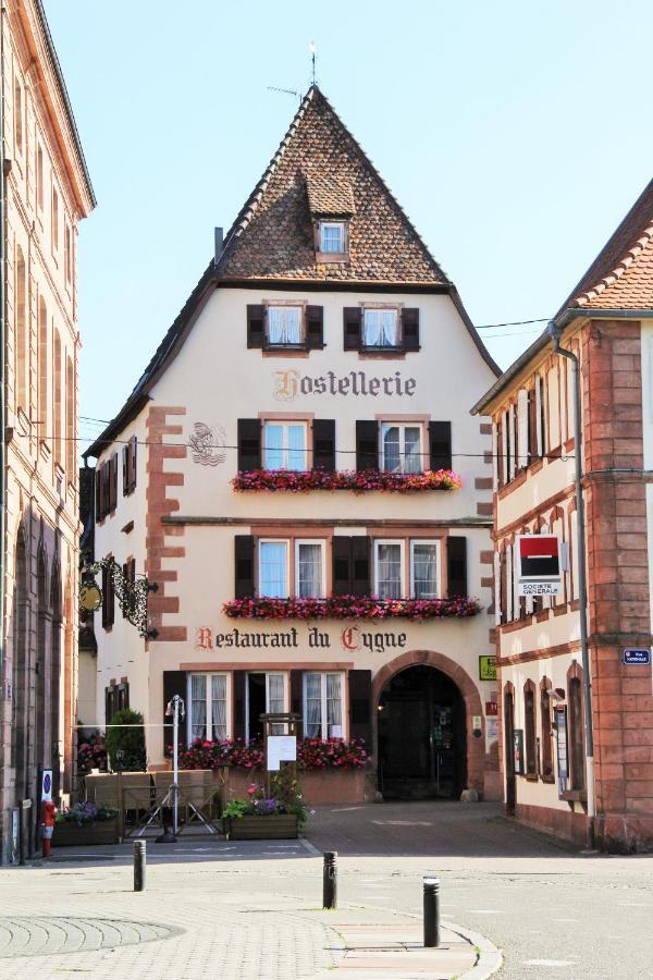 Отель  Hostellerie Au Cygne