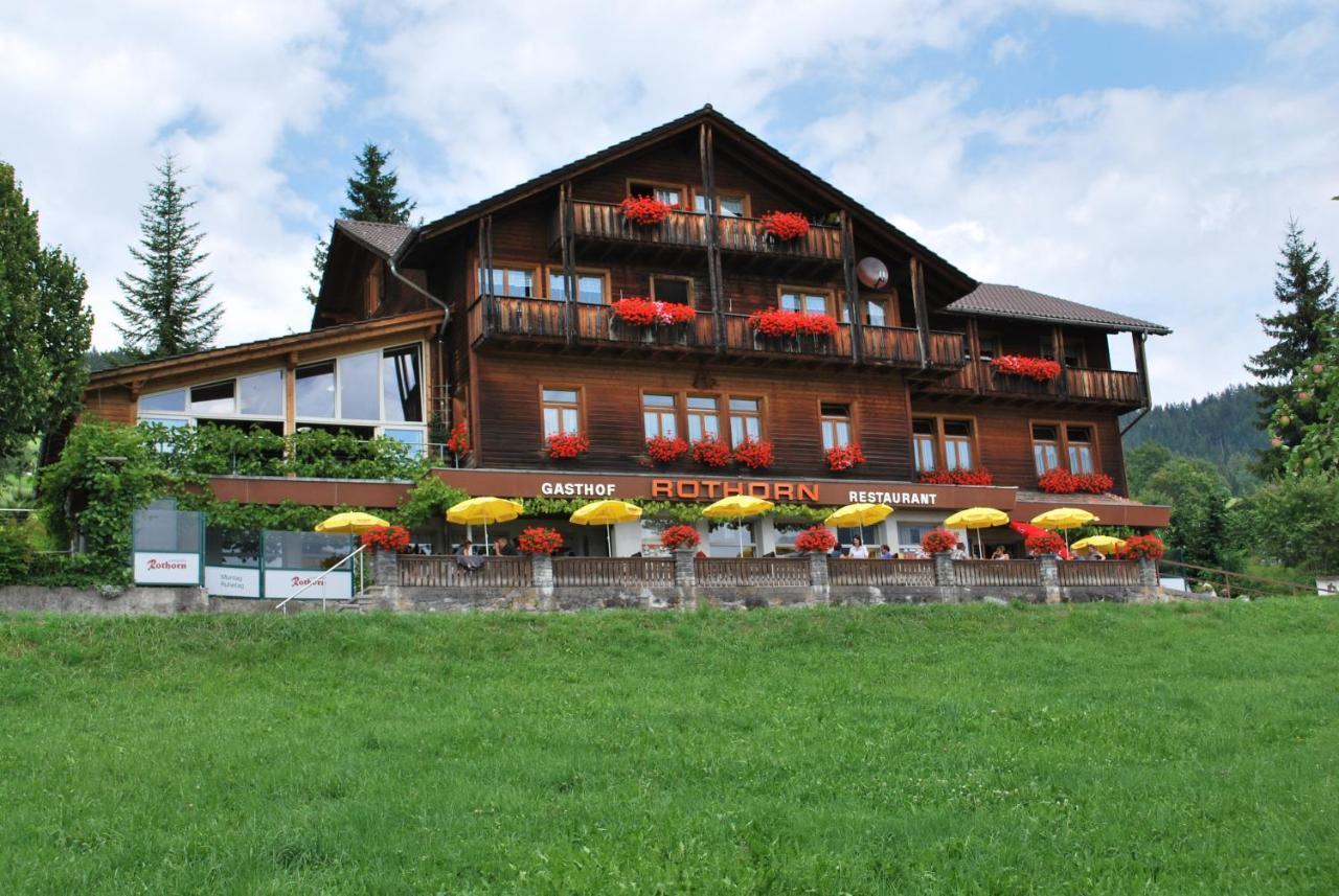 Отель  Hotel Rothorn