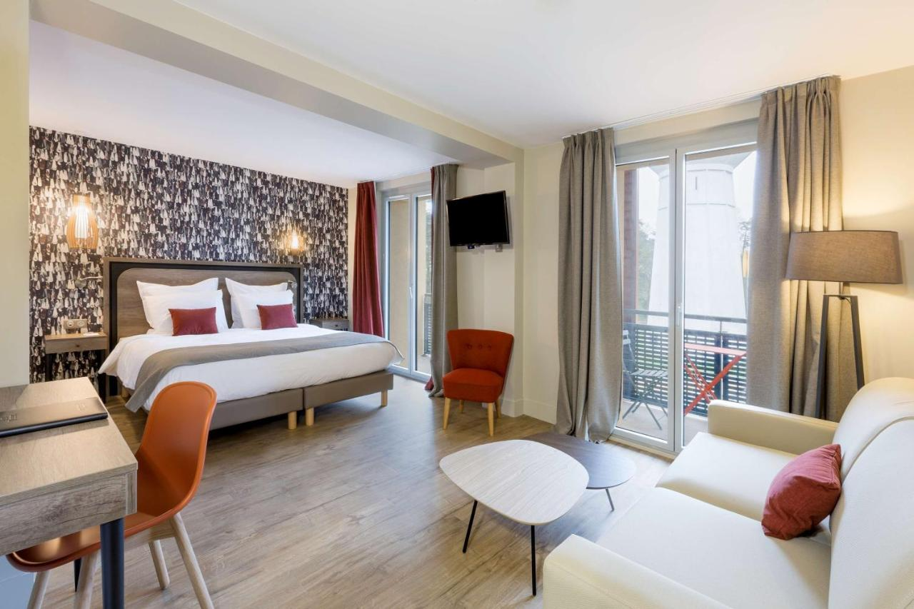 Отель  BEST WESTERN La Porte des Châteaux  - отзывы Booking