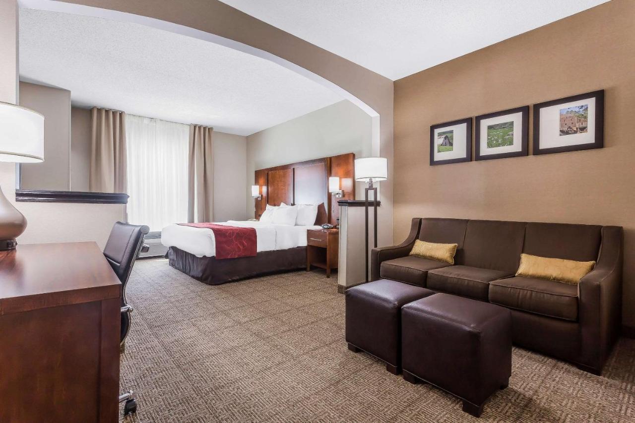Отель  Comfort Suites Salisbury I-85  - отзывы Booking