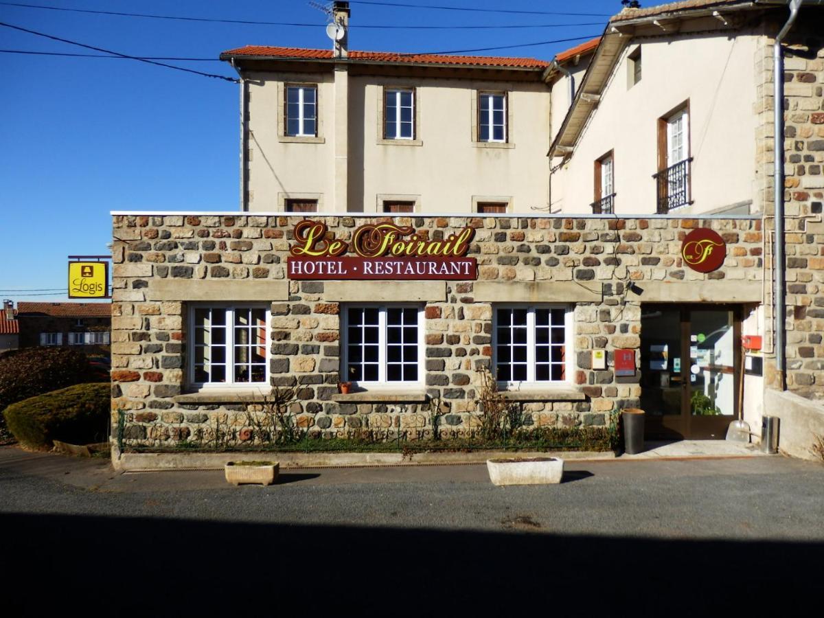 Отель  Hôtel Restaurant Le Foirail