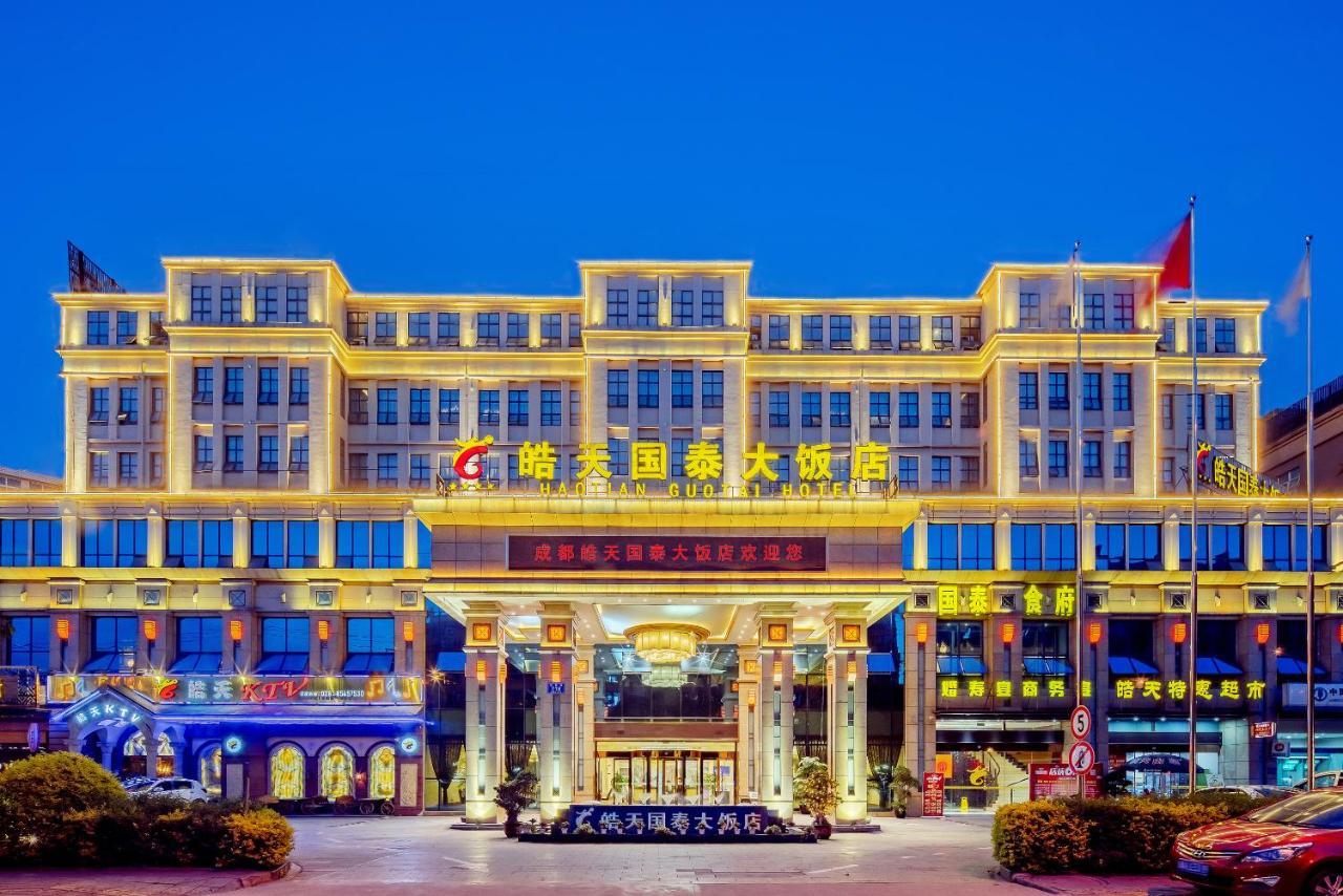 Отель Отель Chengdu Hao Tian Guo Tai Hotel