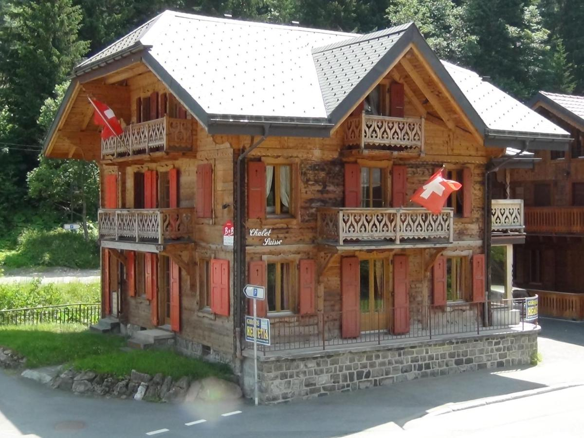 Отель типа «постель и завтрак»  Chalet Suisse Bed and Breakfast  - отзывы Booking