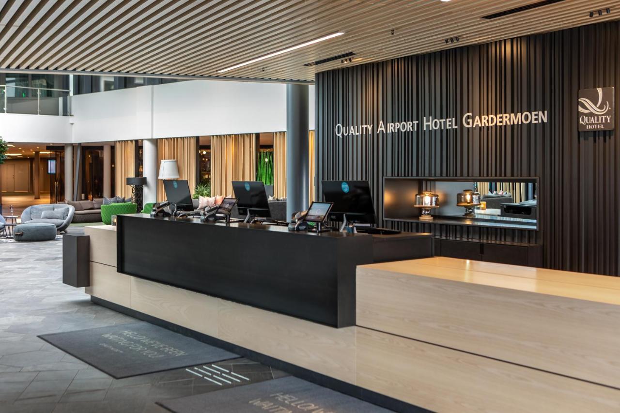 Фото  Отель  Quality Airport Hotel Gardermoen