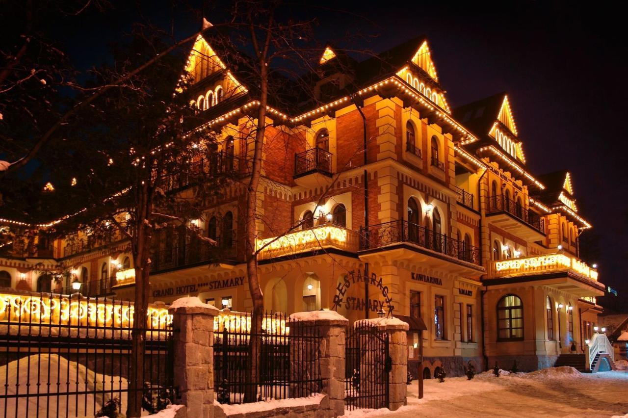 Отель  Grand Hotel Stamary  - отзывы Booking