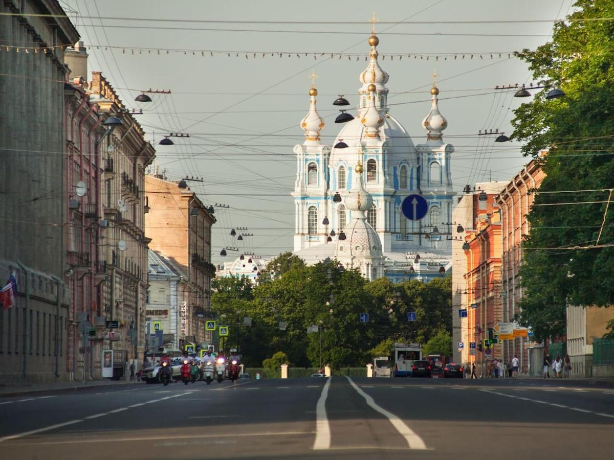 Апартаменты/квартира  kvartira s balkonom Smolny  - отзывы Booking