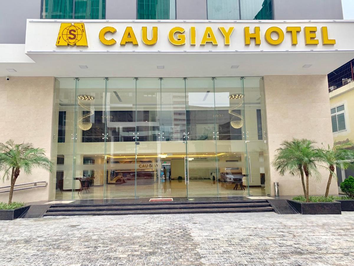 Отель  Отель  Cau Giay Hotel