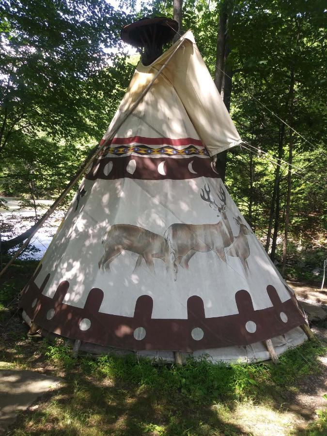 Люкс-шатер  Sioux Tipi On Chloes Lake