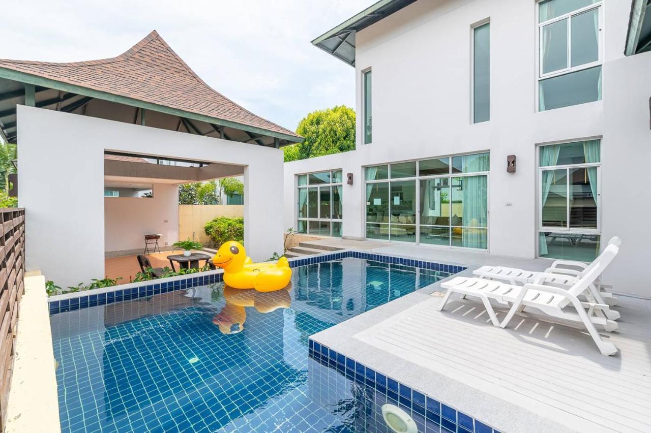 Вилла  AnB-Glass House Pool Villa-3BR Close To Jomtien Beach