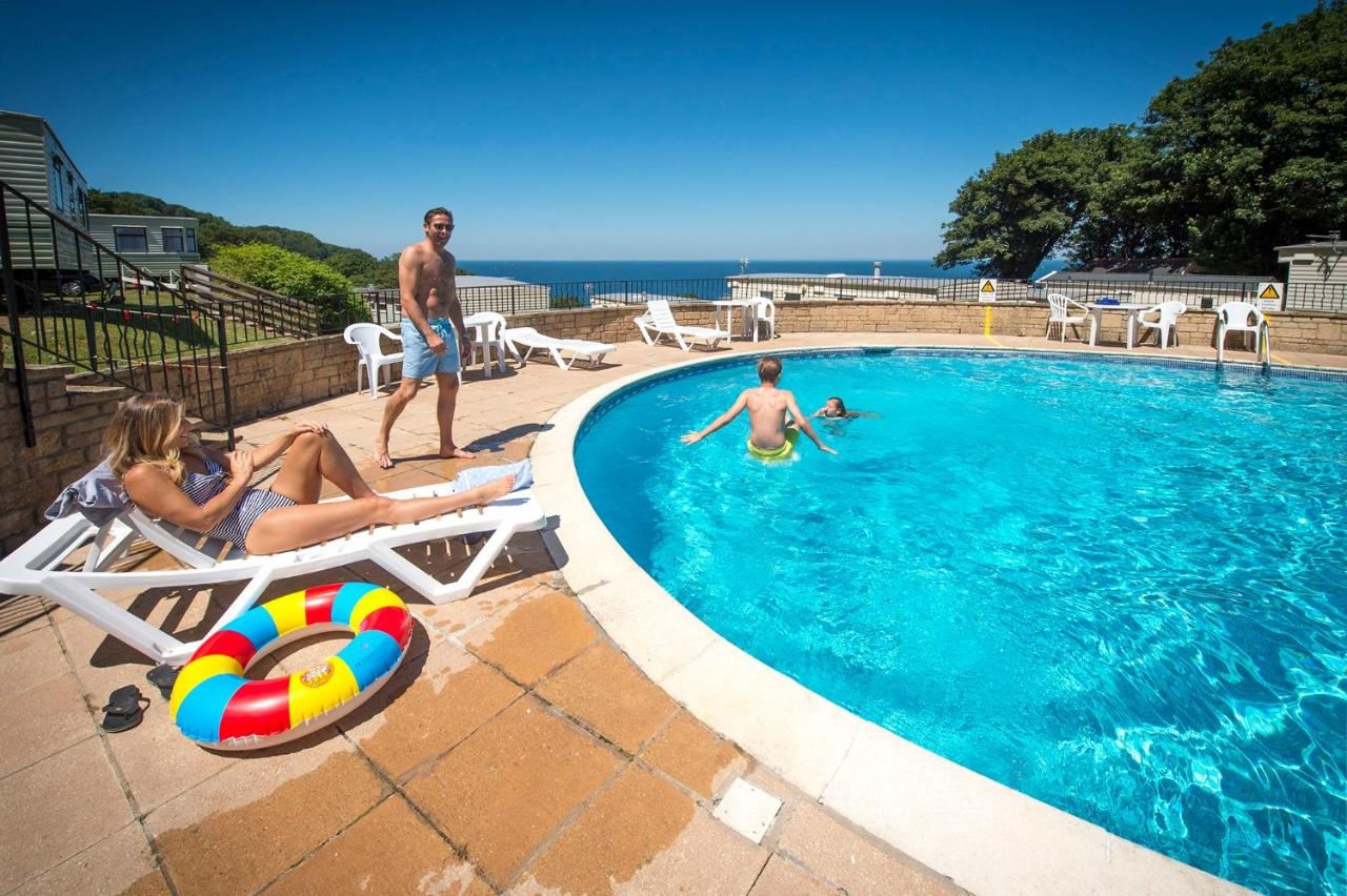 Sandaway Holiday Park at Combe Martin in Devon