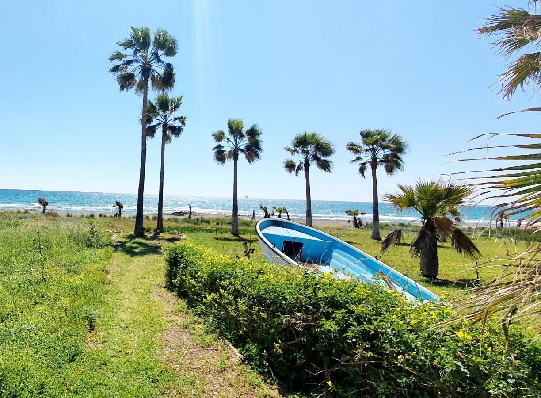 Дом для отпуска  Blue Beachfront House next to Golden Bay Hotel  - отзывы Booking