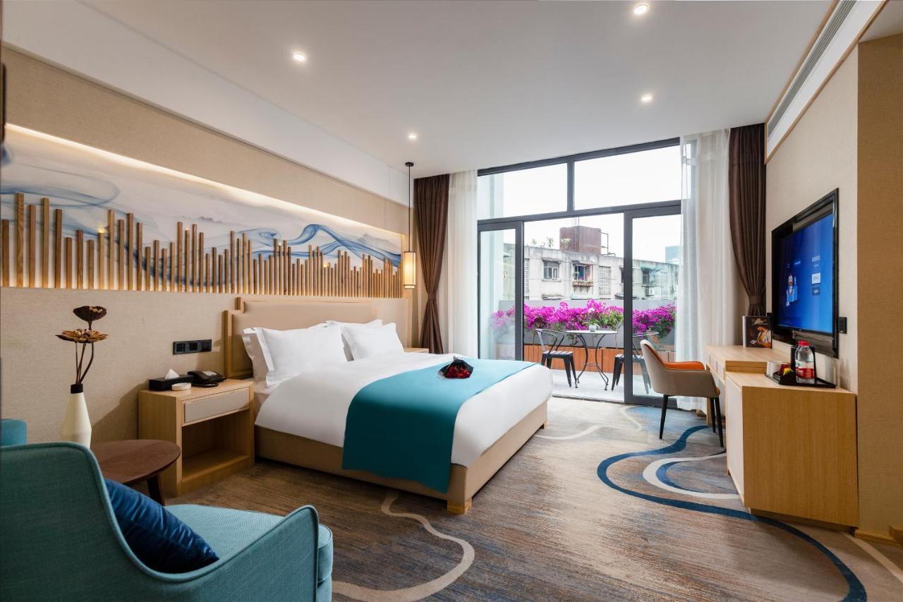 Отель  Lan Hotel (Kuanzhai Alley)
