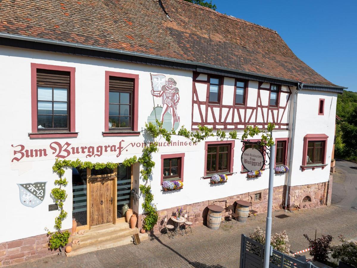 Отель  Hotel Restaurant Zum Burggraf