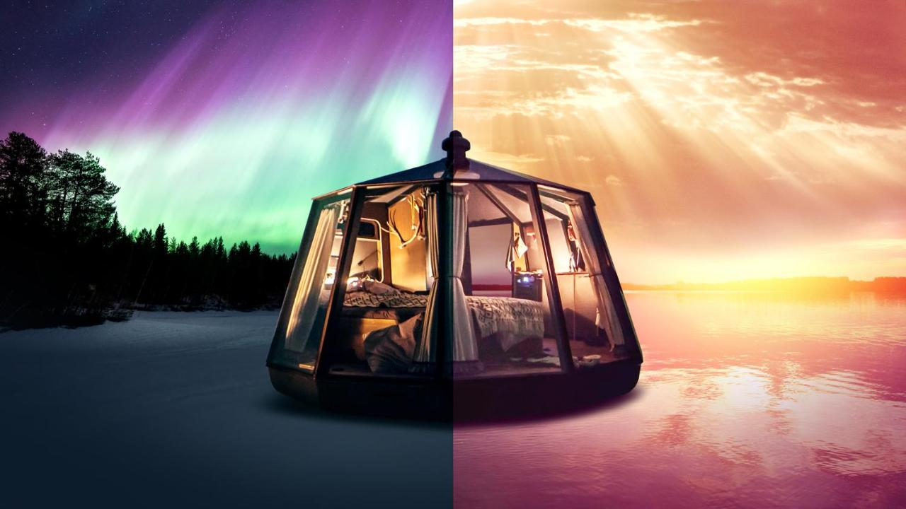 Люкс-шатер  Arctic Lake Experience Oulujärvi Igloos  - отзывы Booking