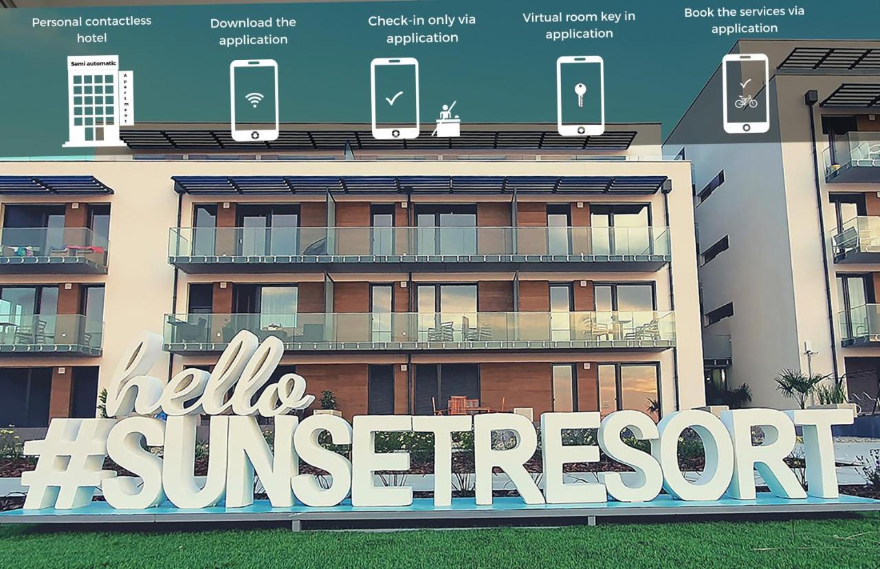 Апарт-отель  Sunset Resort Apartmanház  - отзывы Booking