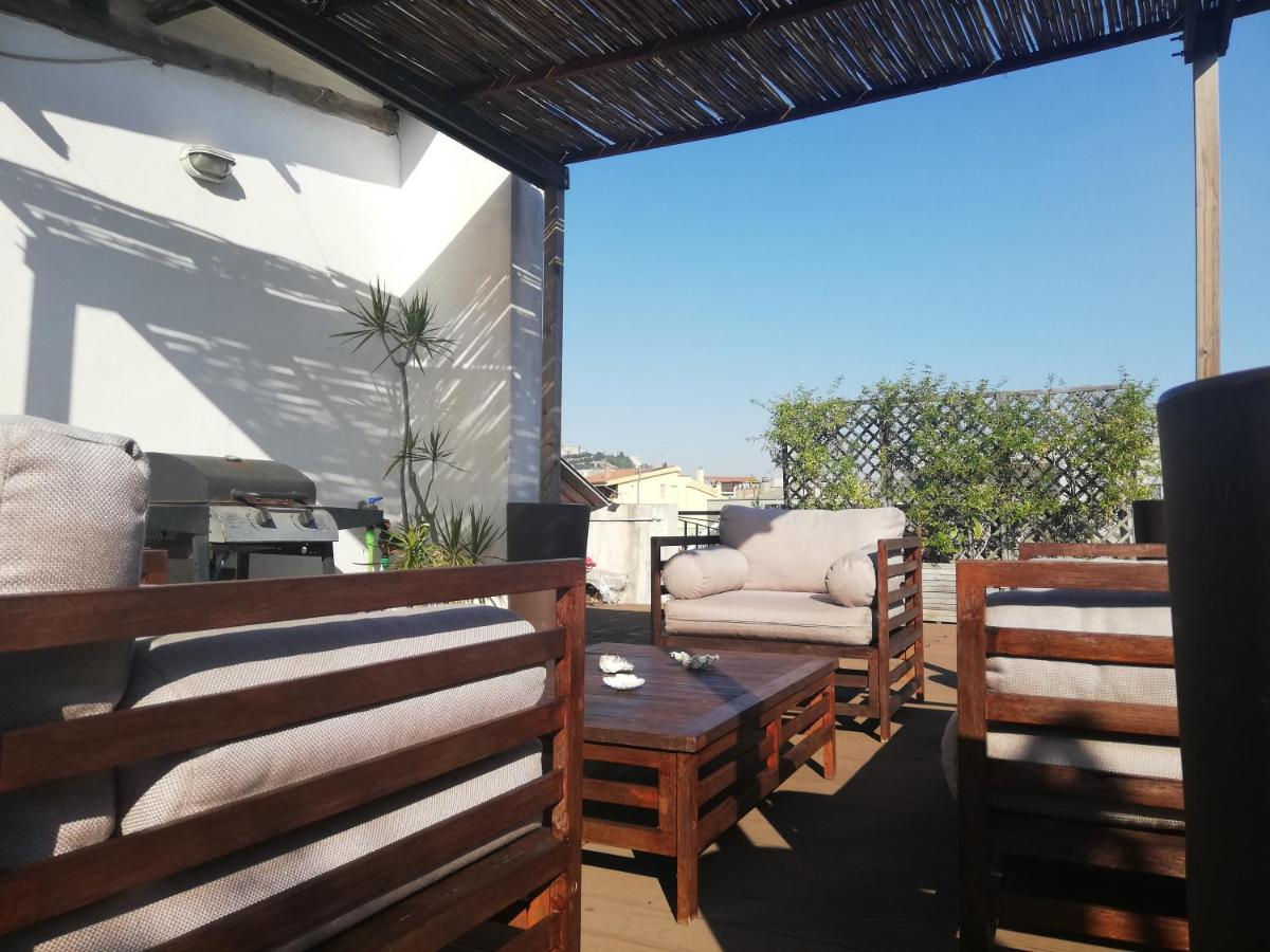 Апартаменты/квартира  Panoramic Apartment With Terrace In Cagliari Heart