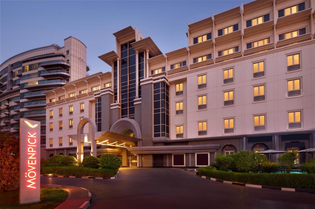 Отель  Отель  Mövenpick Hotel & Apartments Dubai