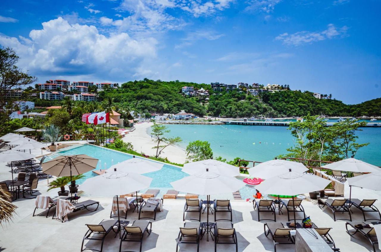 Отель  Отель  Binniguenda Huatulco & Beach Club