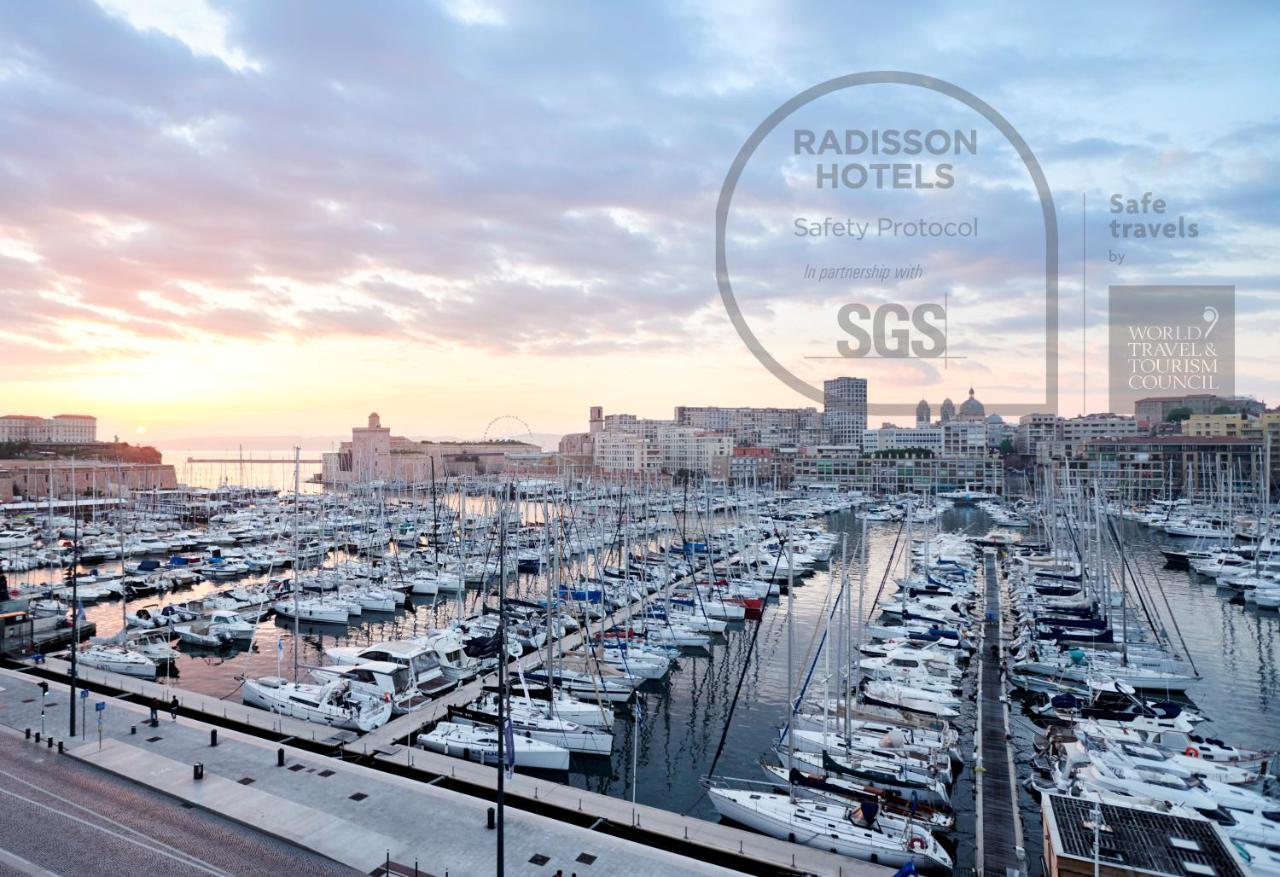 Отель  Radisson Blu Hotel Marseille Vieux Port
