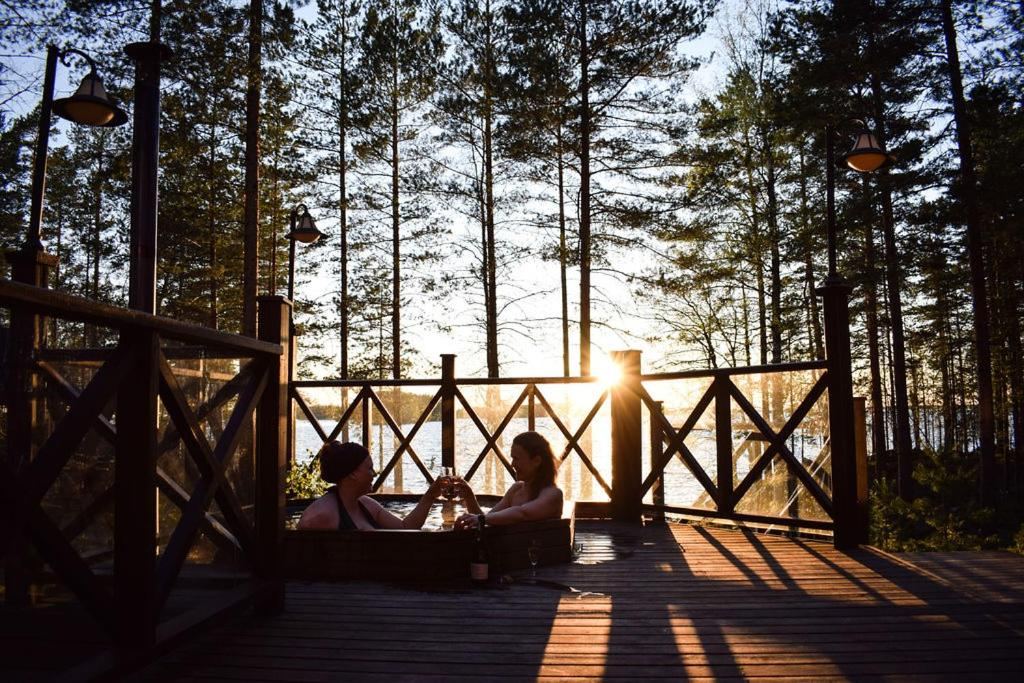 Вилла  Puruvesi Holiday Villas, Kalliohovi  - отзывы Booking