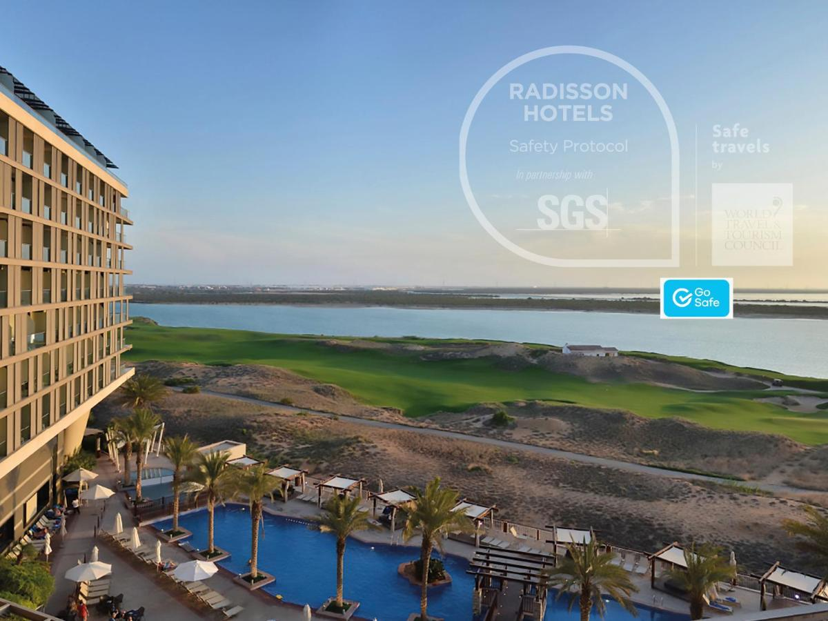 Отель Отель Radisson Blu Hotel, Abu Dhabi Yas Island