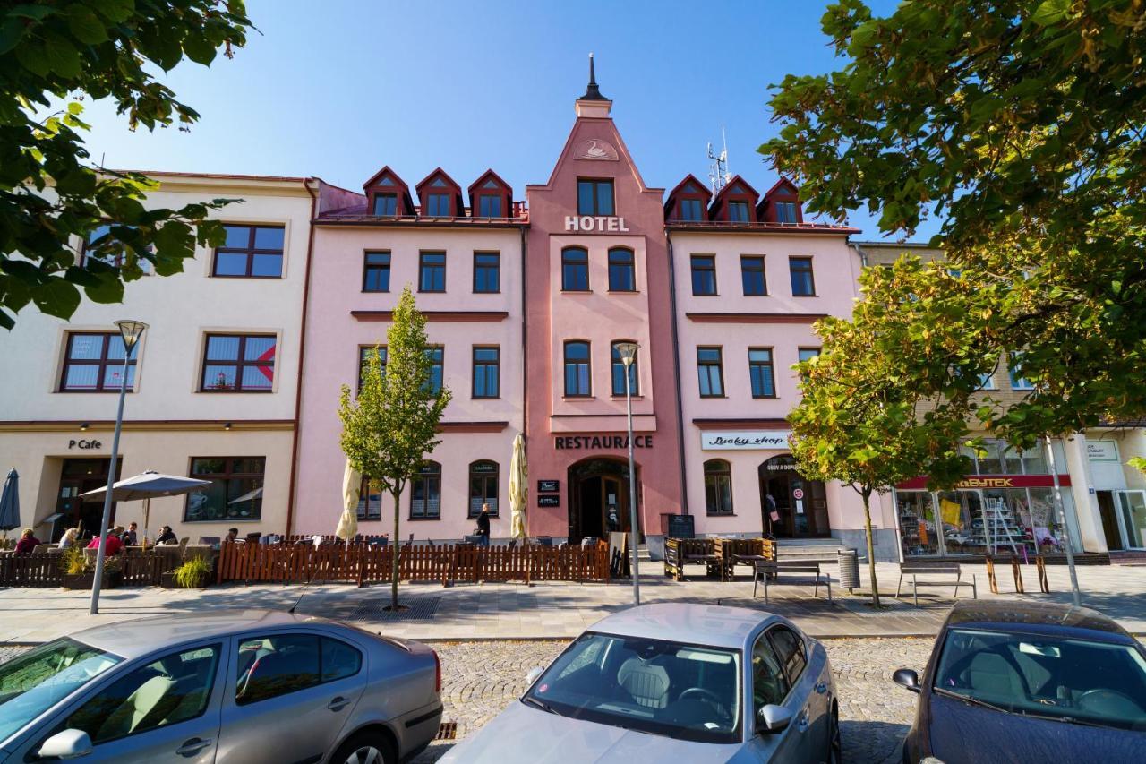 Отель  Hotel U Labutě
