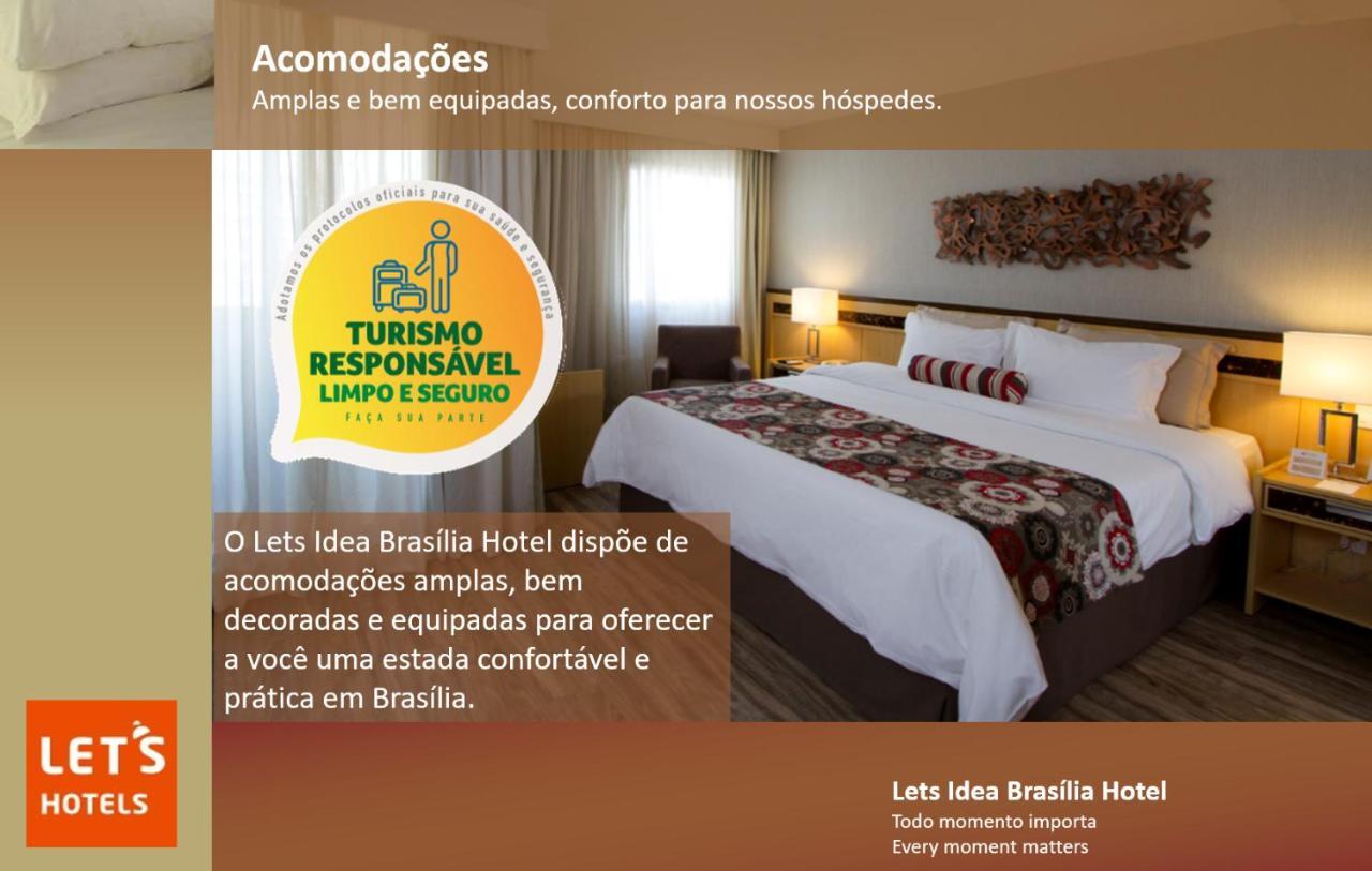 Отель  Lets Idea Brasília Hotel