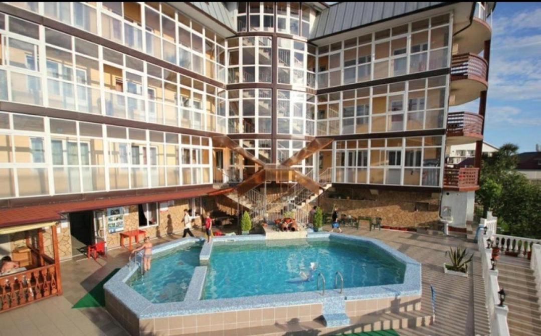 Апартаменты/квартира  Студия с бассейном,сауной и барбекю.