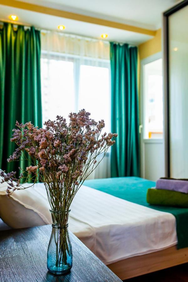 Апартаменты/квартиры 2 ком студия на 18 этаже с панорамным ВИДОМ НА ГОРЫ в ЖК Мега Тауер