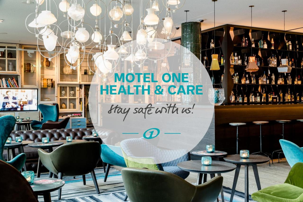 Отель  Отель  Motel One Amsterdam-Waterlooplein