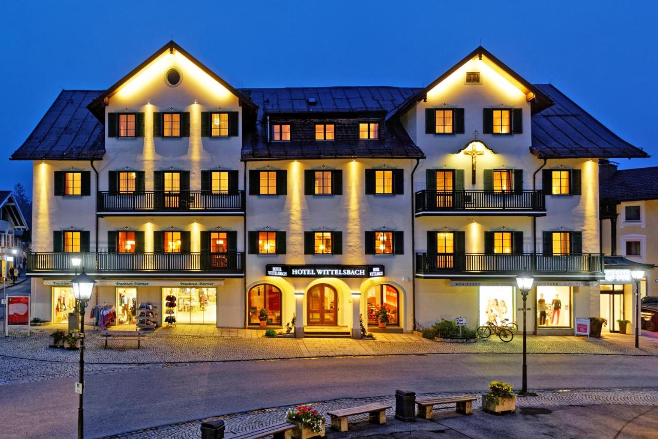 Отель  Hotel Wittelsbach Oberammergau