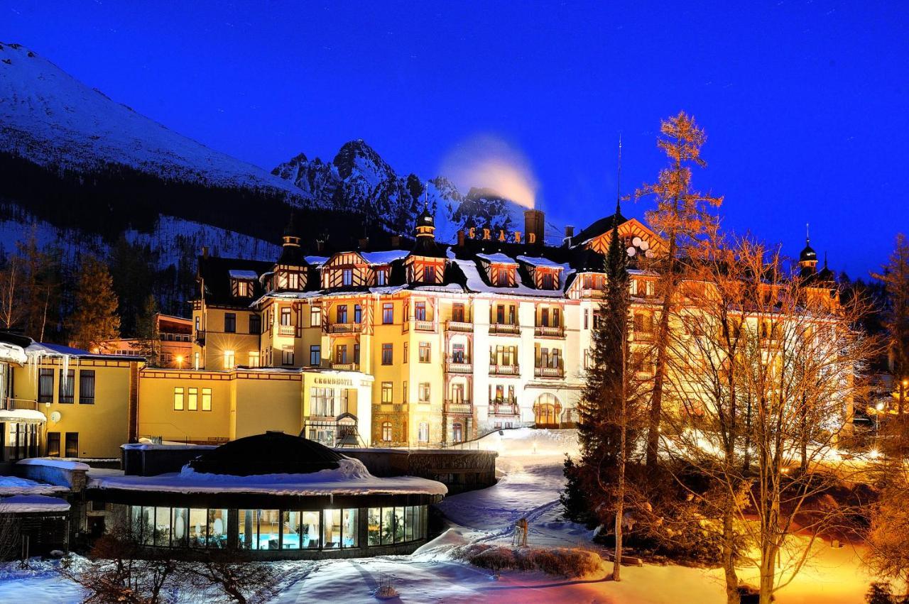 Отель Grand hotel Starý Smokovec - отзывы Booking