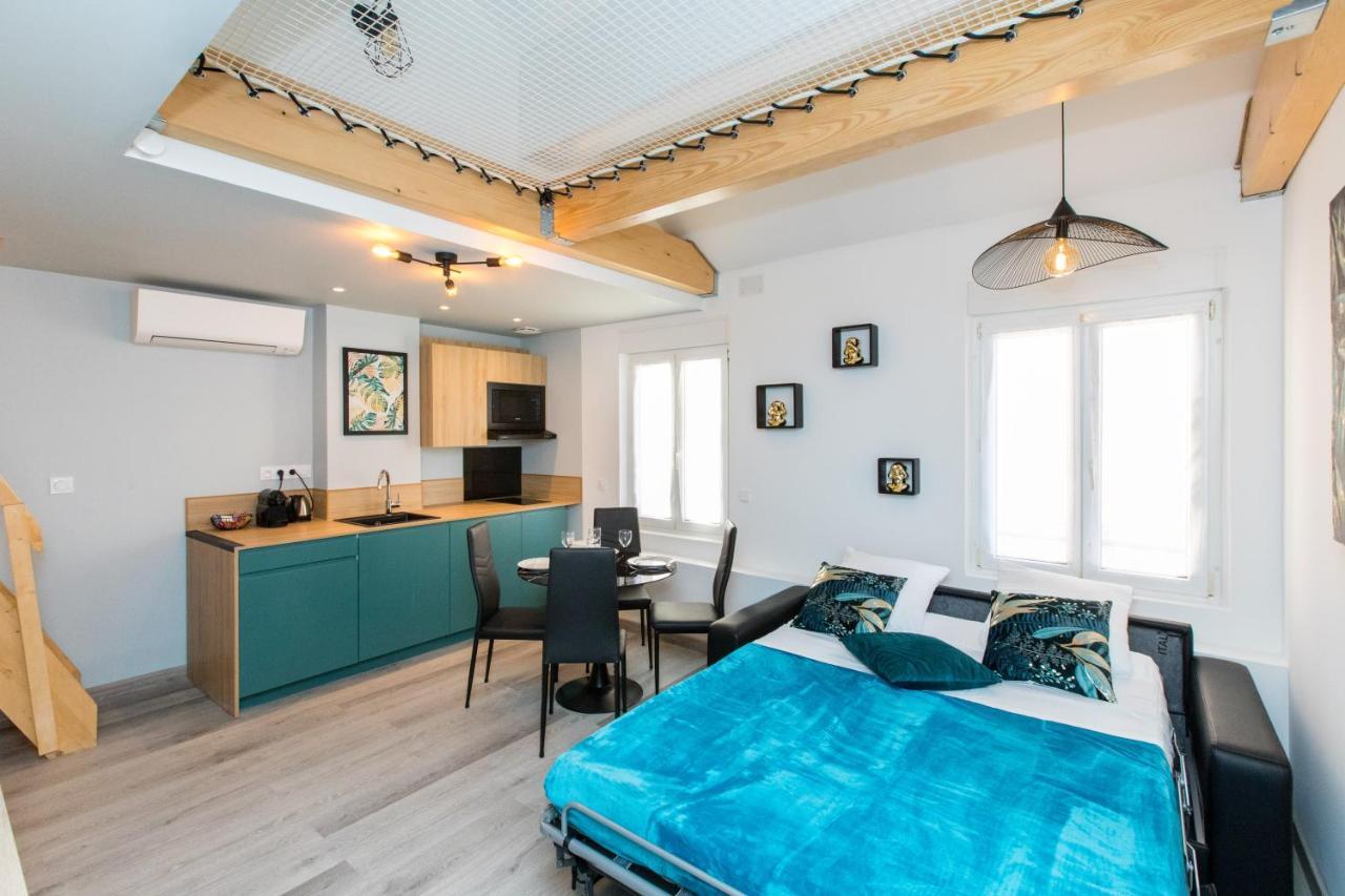 Апартаменты/квартиры Duplex : Plage 300m, Clim, Netflix - отзывы Booking