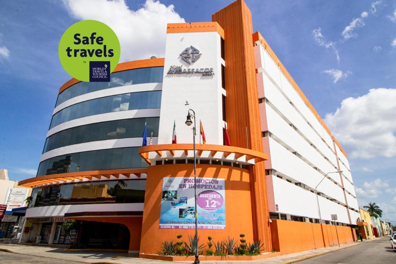 Фото  Отель  Hotel Ambassador Mérida