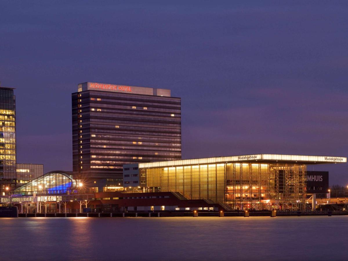 Отель Отель Mövenpick Hotel Amsterdam City Centre
