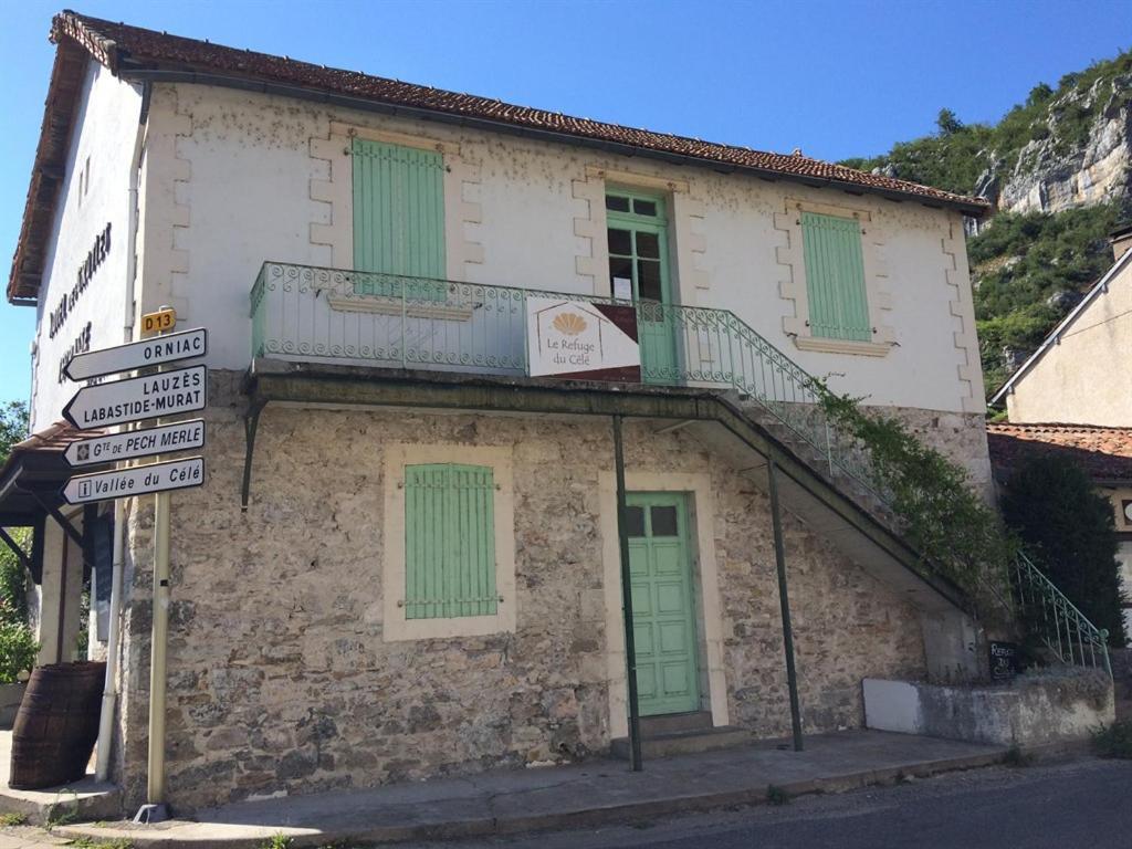 Хостел  Le Refuge Du Célé