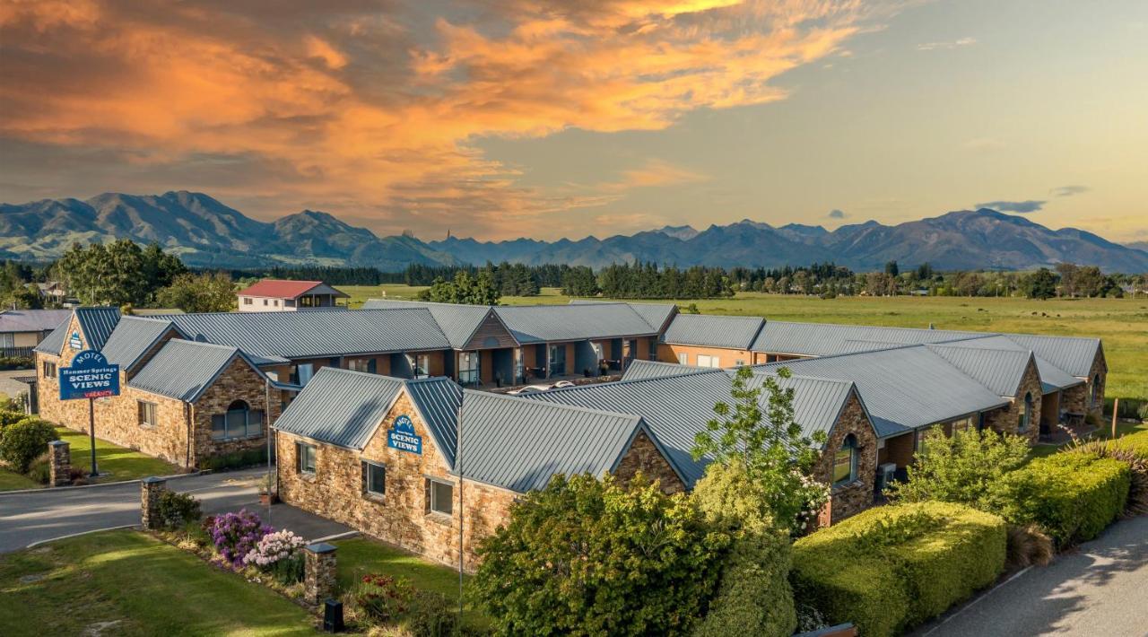 Мотель  Hanmer Springs Scenic Views Motel  - отзывы Booking