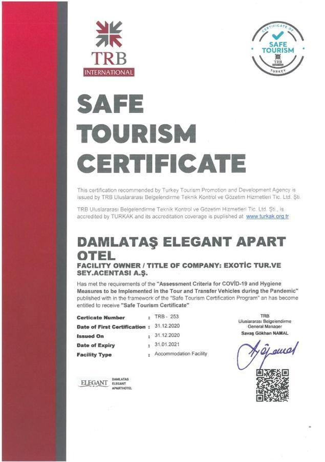 Апарт-отель  Damlatas Elegant Apart Hotel  - отзывы Booking