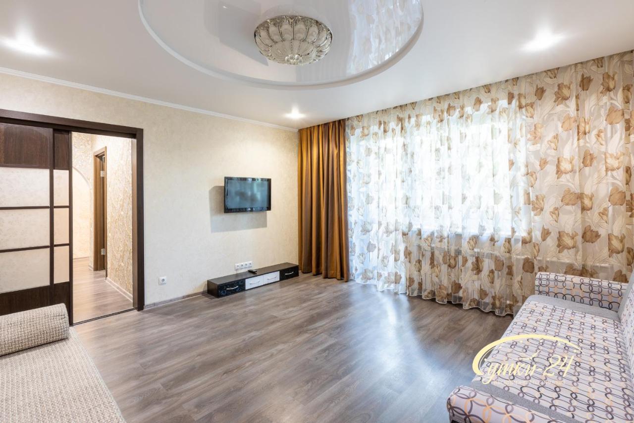 Апартаменты/квартира  Apartment Hotel Sutki-24 двухкомнатные апартаменты г. Тобольск, 3Б микрорайон, дом 10