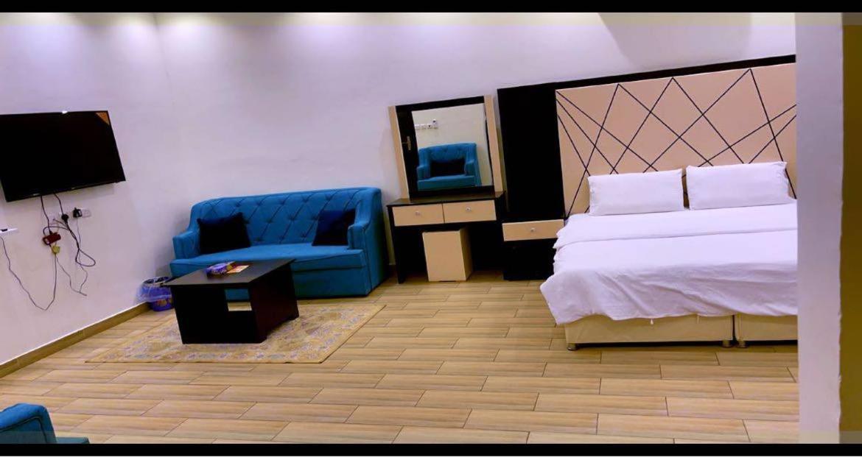 Апартаменты/квартиры  شقق نجم المزاحميه  - отзывы Booking