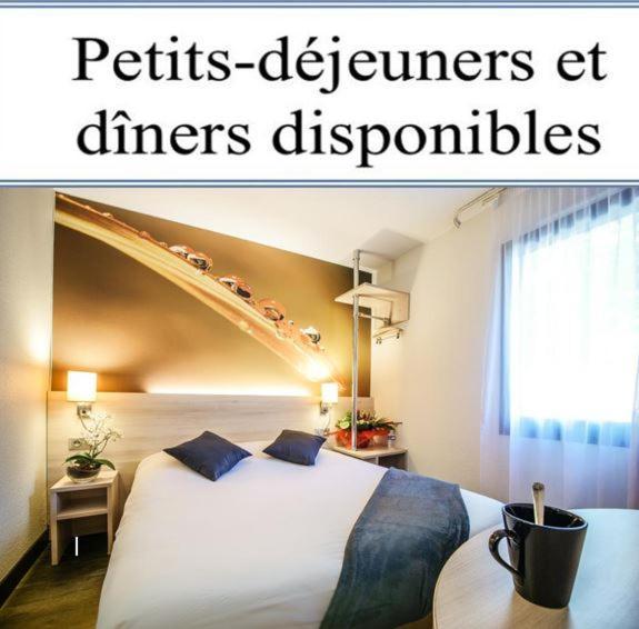 Отель  Hôtel Inn Design - Restaurant L'Escale  - отзывы Booking
