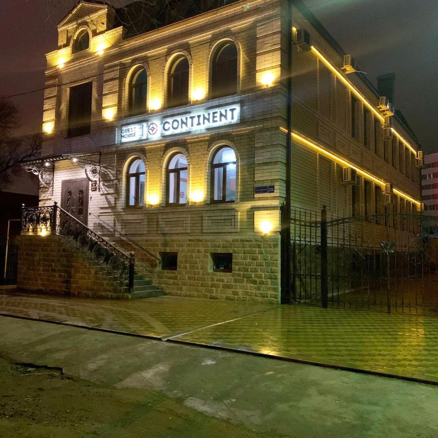 Отель  Отель  Гостевой дом Сontinent