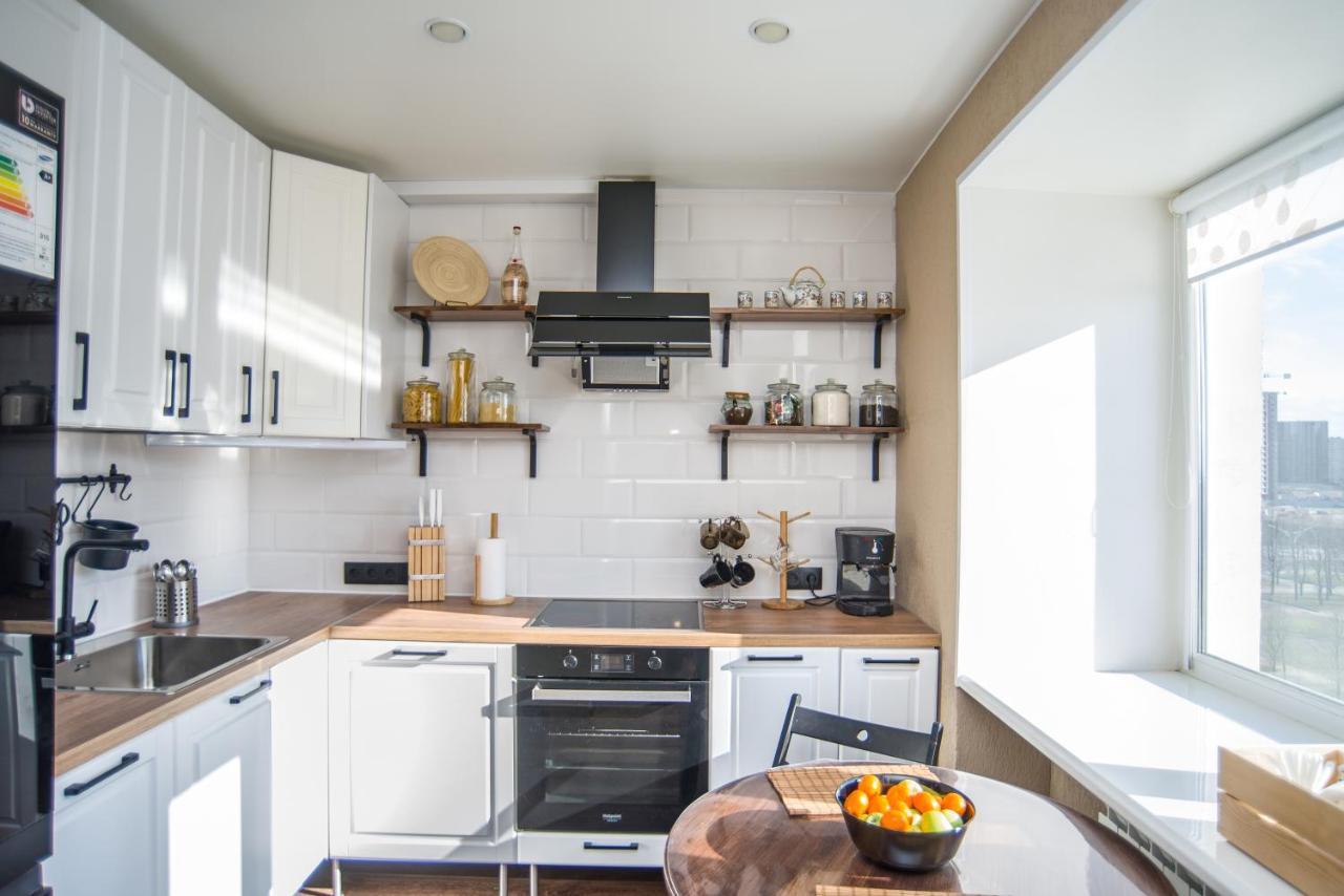 Апартаменты/квартира  Уютные апартаменты в скандинавском стиле на берегу залива  - отзывы Booking