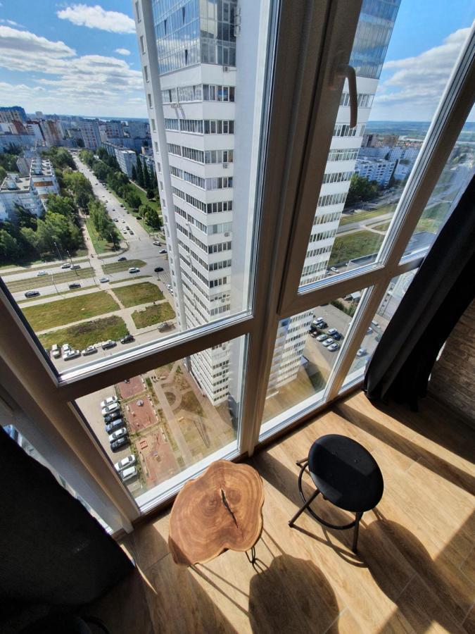 Апартаменты/квартира  Уютная студия с панорамным видом на 24 этаже, в новом доме.