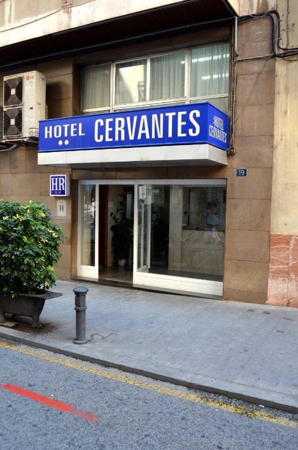 Отель  Отель  Hotel Cervantes
