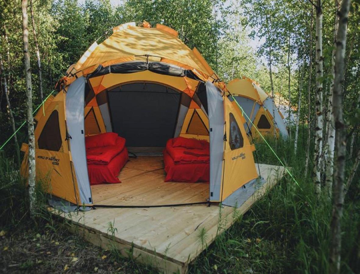 Люкс-шатер  Фермерский кемпинг Никола-Ленивец  - отзывы Booking