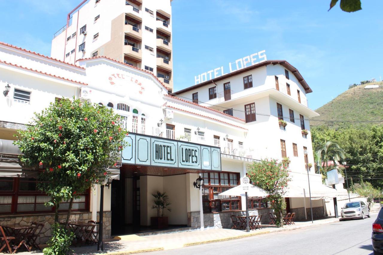 Отель  Hotel Lopes Caxambu
